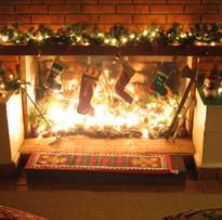 Lareiras no Natal