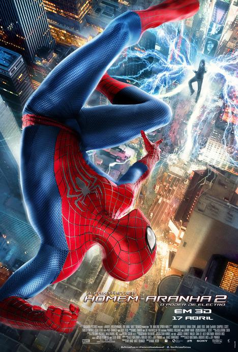 Poster do filme O Fantástico Homem-Aranha 2: O Poder de Electro (3D - IMAX)