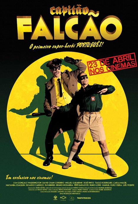 Poster do filme Capitão Falcão