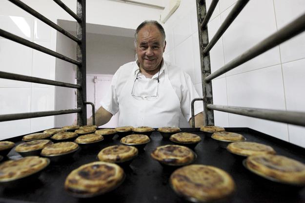 O pastel de nata de bolota foi desenvolvido por Rui Coelho, pasteleiro há mais de 40 anos