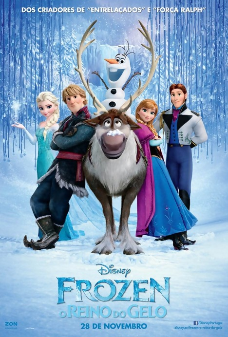 Poster do filme Frozen - O Reino do Gelo