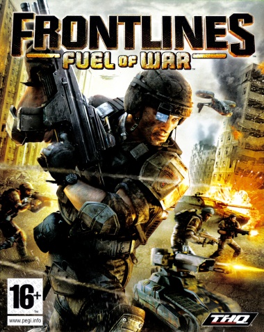 Frontlines: Fuel of War cover