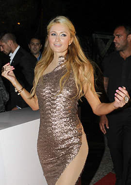 Paris Hilton no Algarve