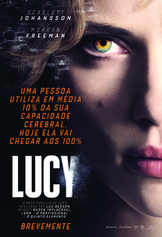 Capa do filme: Lucy