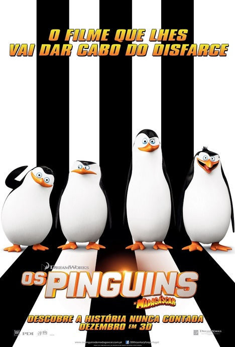 Poster do filme Os Pinguins de Madagascar