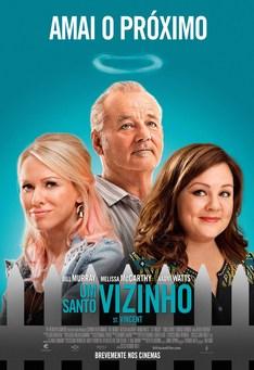 Capa do filme: Um Santo Vizinho