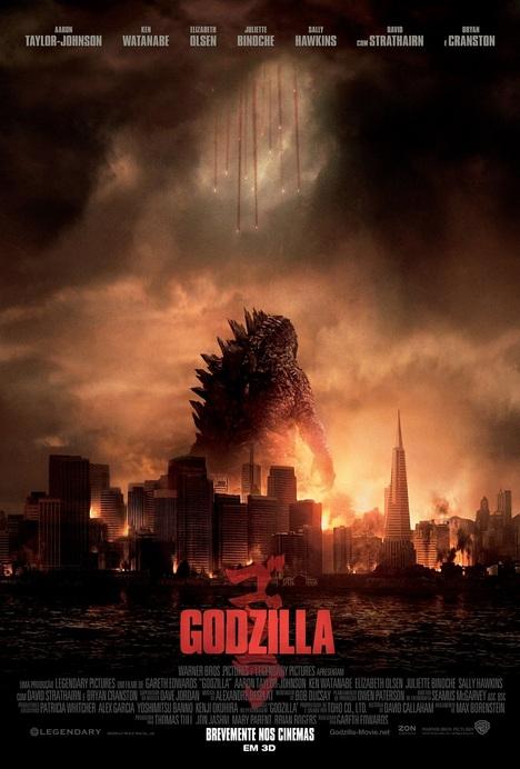 Poster do filme Godzilla (II) (3D - IMAX)