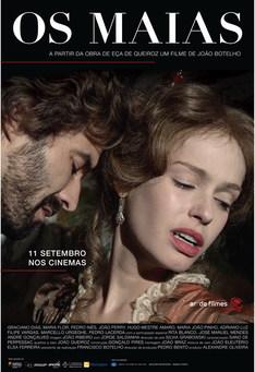 Capa do filme: Os Maias - Cenas da Vida Romântica