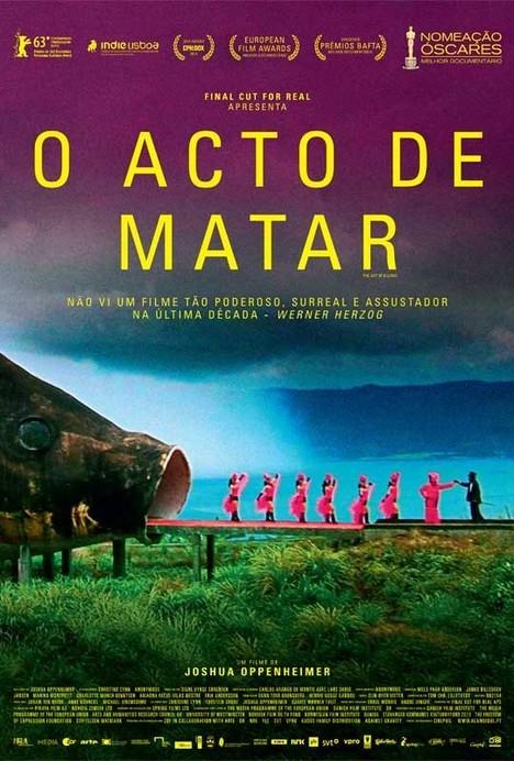 Poster do filme O Acto de Matar
