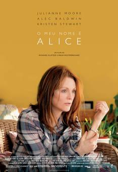 Capa do filme: O Meu Nome é Alice