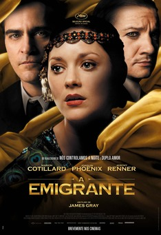 Capa do filme: A Emigrante