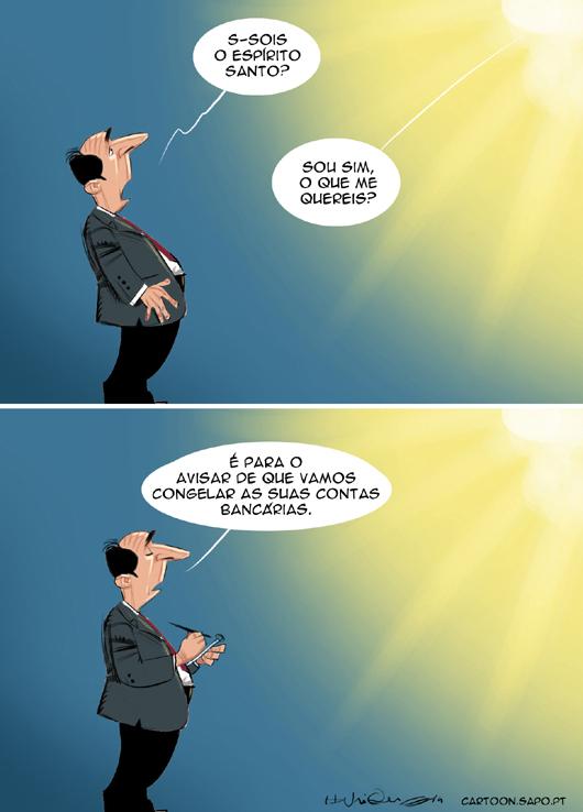 Cartoons - As contas família Espírito Santo - BES