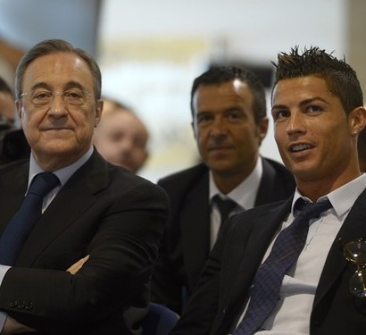 Florentino Perez e Cristiano Ronaldo Real Madrid
