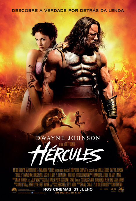 Capa do filme: «Hércules»