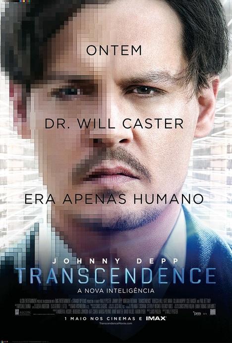 Poster do filme Transcendence - A Nova Inteligência
