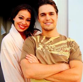 Diogo Morgado e Vanessa Ferreira