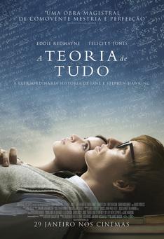 Capa do filme: A Teoria de Tudo