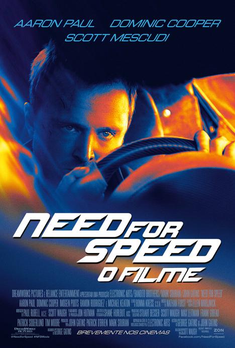 Poster do filme Need for Speed: O Filme