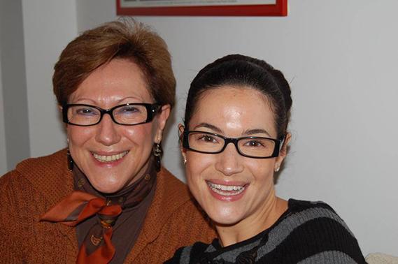 """Paula Neves: """"Feliz Dia da Mãe. Beijo grande para minha querida 'mammy'""""."""