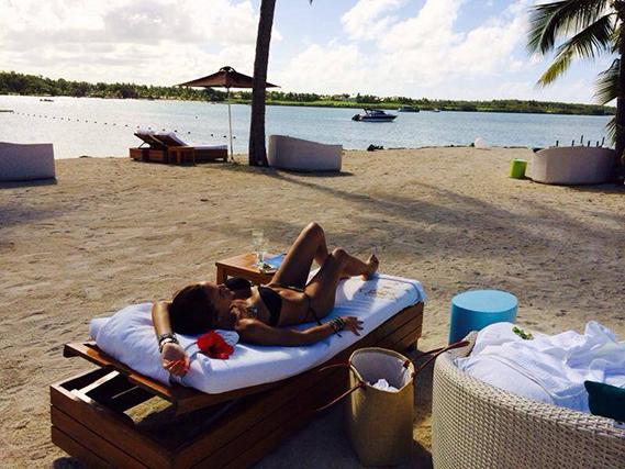 Liliana Aguiar está de férias num destino paradisíaco. Ainda não revelou o local, não vá alguém incomodá-la, mas partilhou esta imagem dos seus momentos de lazer.