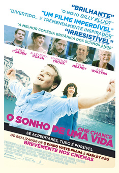 Capa do filme: One Chance - O Sonho de uma Vida