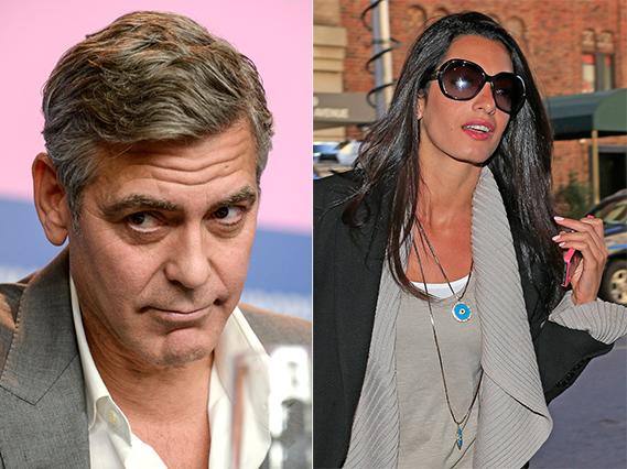 Amal Allamudin, uma famosa advogada britânica de origem libanesa, de 36 anos, é a mais recente conquista do ator George Clooney, de 52. Segundo testemunhas fidedignas, estão oficialmente noivos e tencionam casar-se ainda este ano.