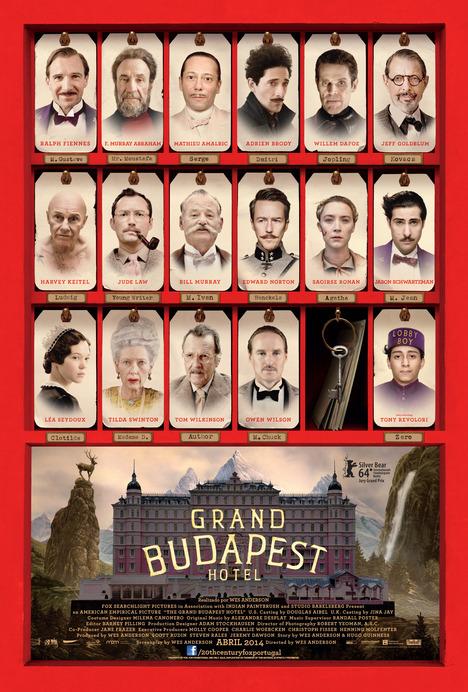 Poster do filme Grand Budapest Hotel
