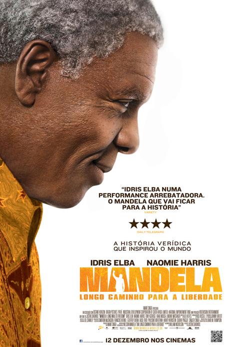 Poster do filme Mandela: Longo Caminho Para a Liberdade