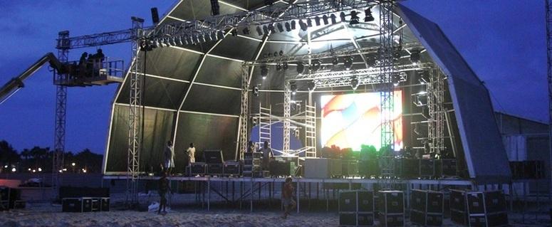 palco Santa Maria