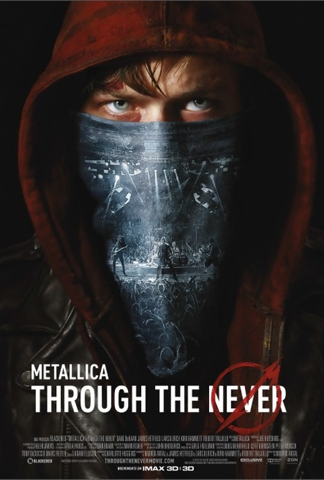 Poster do filme Metallica Through The Never IMAX)