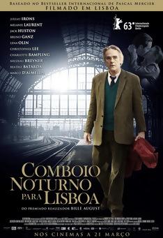 Poster de «Comboio Noturno para Lisboa»