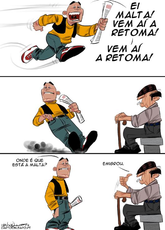 A retoma