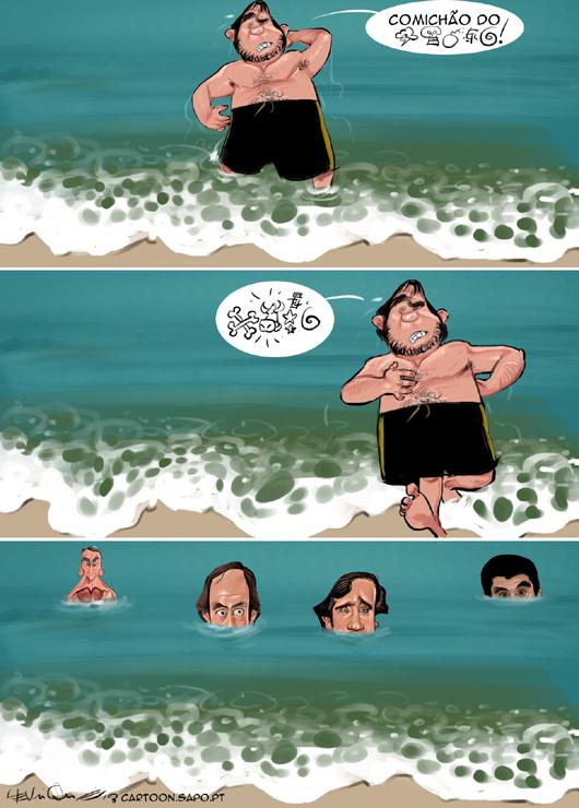 As toxinas da praia de Carcavelos