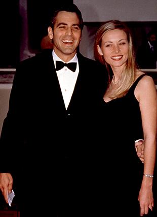 Entre 1996 e 1999, o amor de Clooney foi para a atriz francesa Celine Balitran, que conheceu num café de Paris.