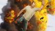 Imagem GTA V: encontro aleatório de personagens acaba de forma explosiva