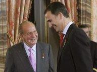Juan Carlos e Felipe