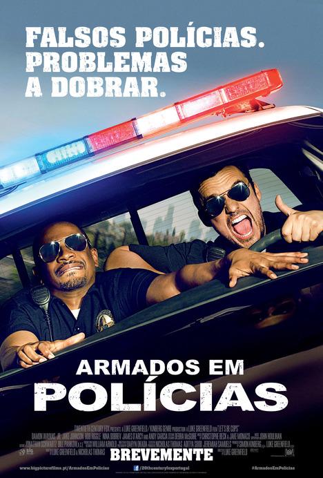 Capa do filme: «Armados em Polícias»