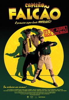 Capa do filme: Capitão Falcão