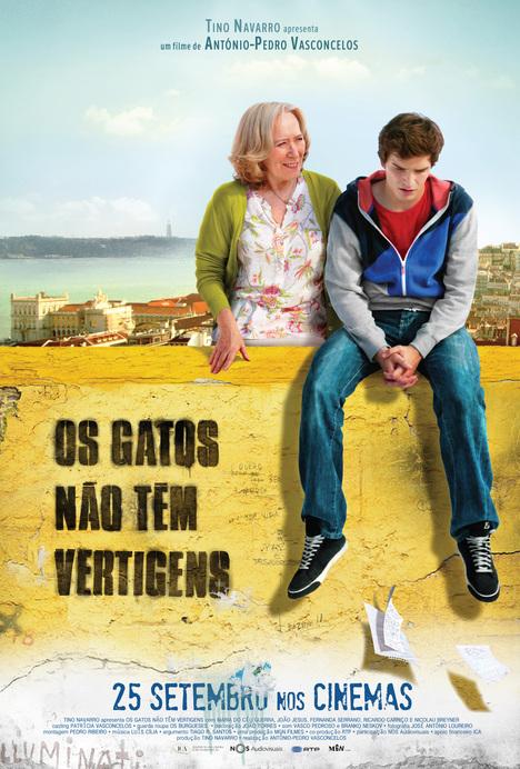 Poster do filme Os Gatos Não Têm Vertigens