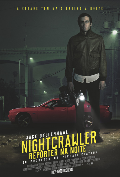 Poster do filme Nightcrawler - Repórter na Noite