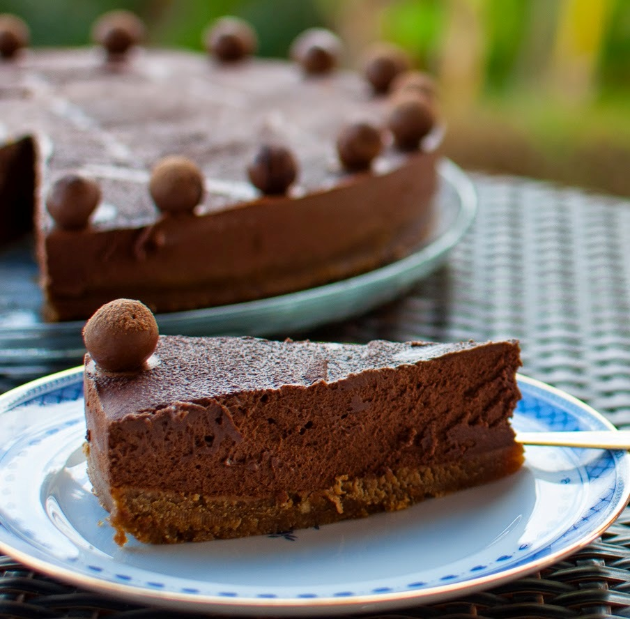 Tarte de mousse de chocolate | SAPO Lifestyle