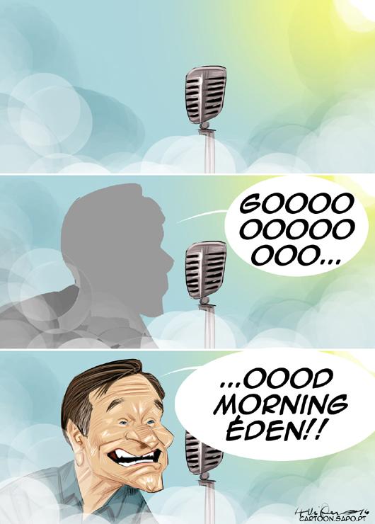 Cartoons - O despertar no paraíso - Robin Williams