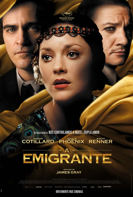 Capa do filme: «A Emigrante»