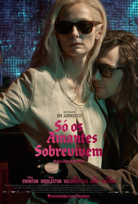 Poster do filme Só os Amantes Sobrevivem
