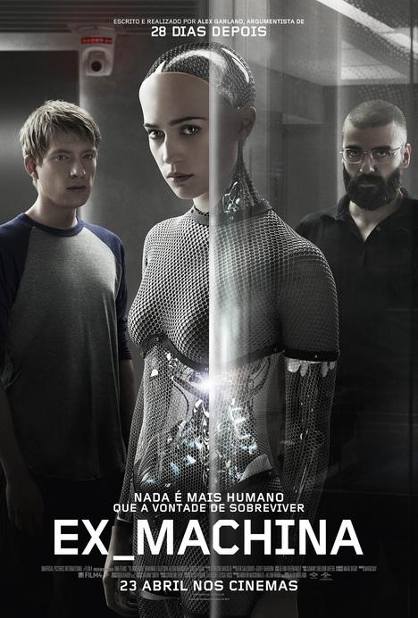 Capa do filme: «Ex Machina»