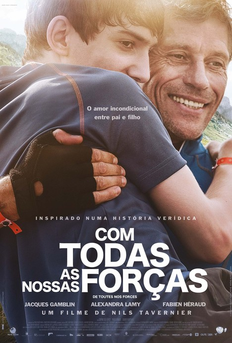 Capa do filme: «Com Todas as Nossas Forças»