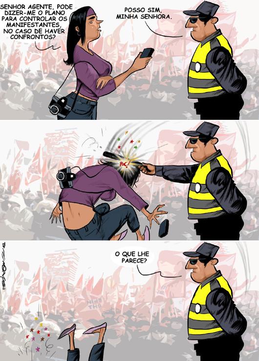 A origem dos confrontos