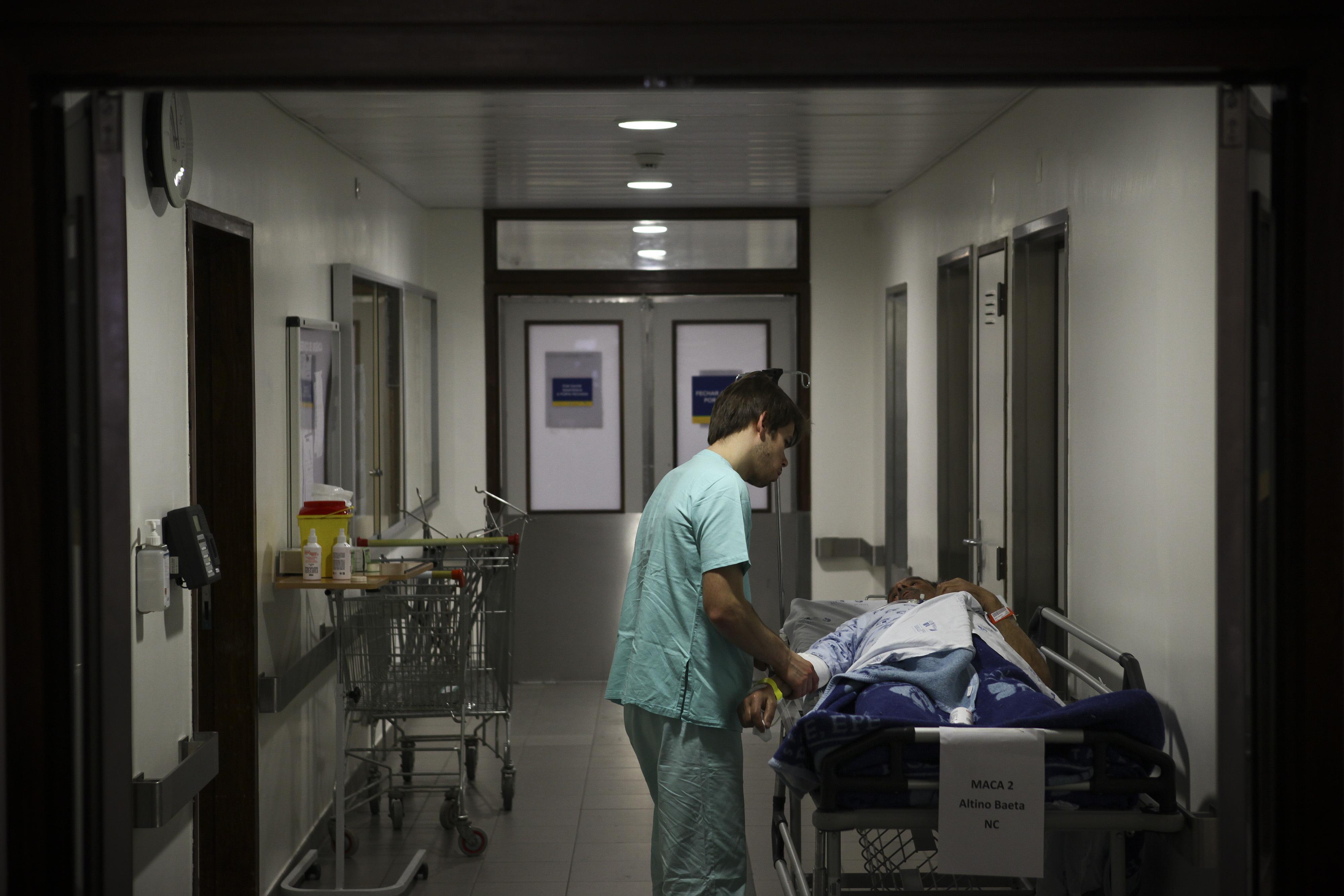 Enfermeiros de Viseu com contrato individual exigem 35 horas semanais
