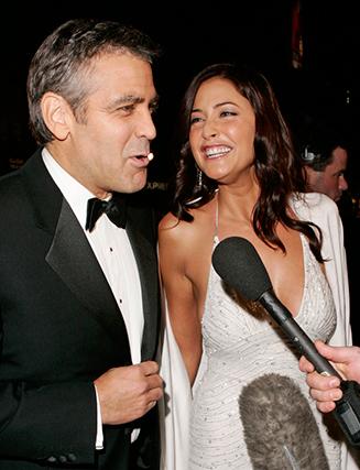 """Ainda nos anos 2000, a modelo e apresentadora britânica Lisa Snowdon teve uma longa relação, """"on-and-off"""" com Clooney."""