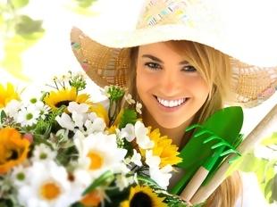 Flores com tratamento VIP
